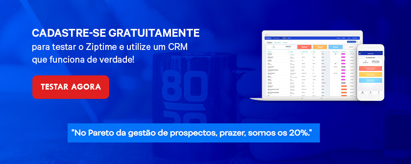 CRM simples e intuitivo
