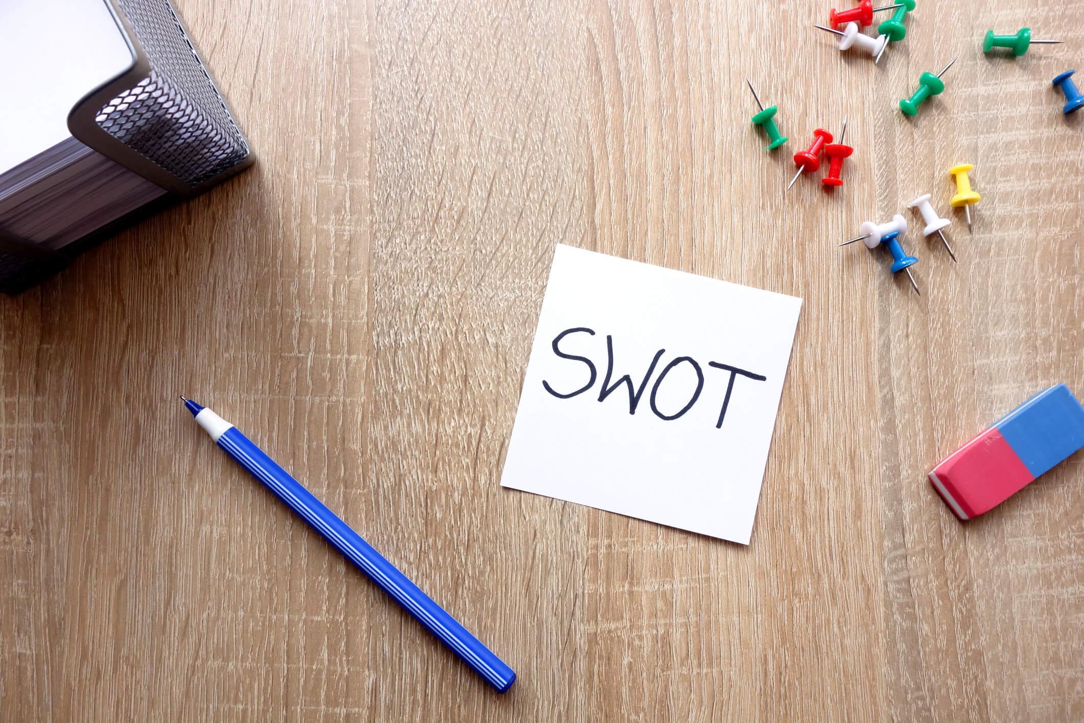 Matrix análise SWOT